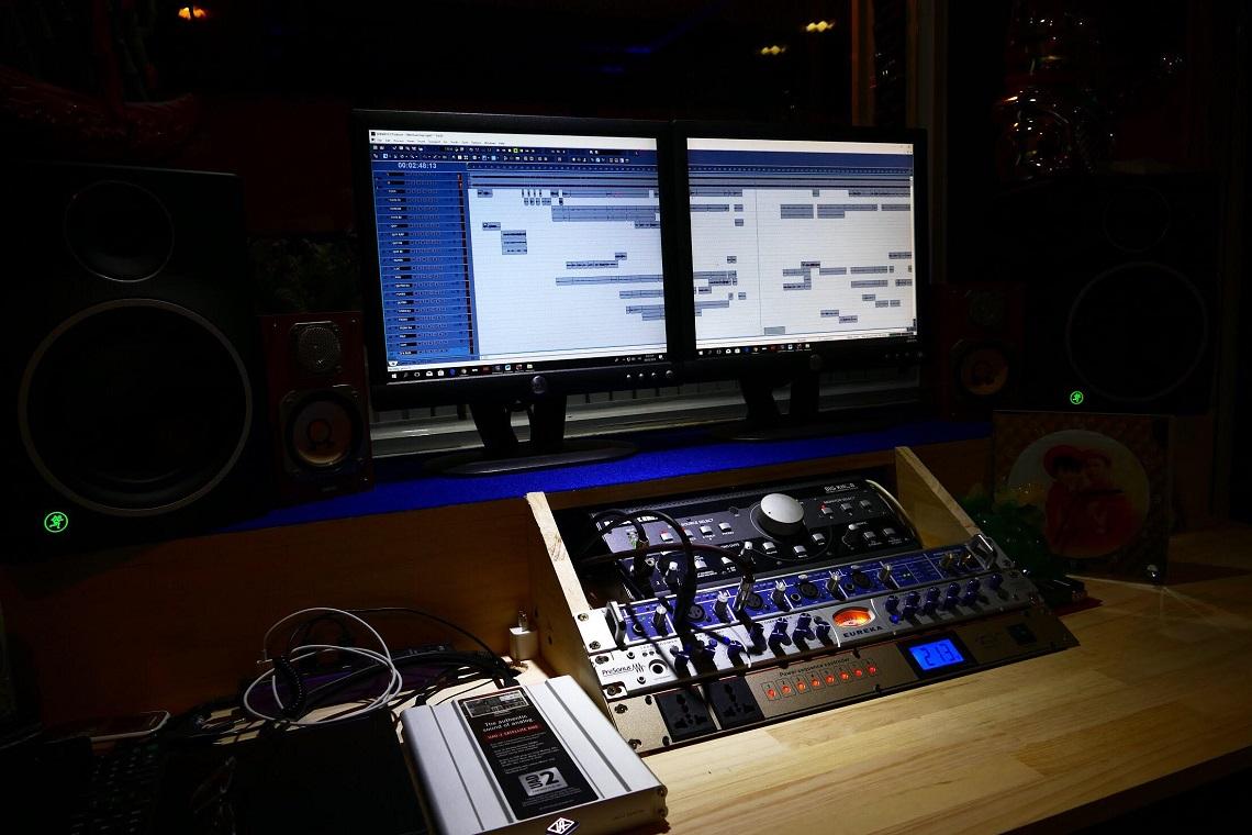 phòng thu âm hcm