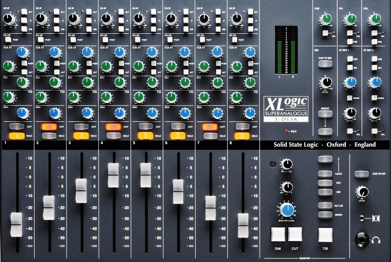 Mixing và mixer trong phòng thu âm chuyên nghiệp